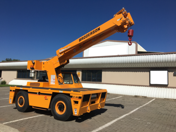 broderson IC80 used pick and carry crane